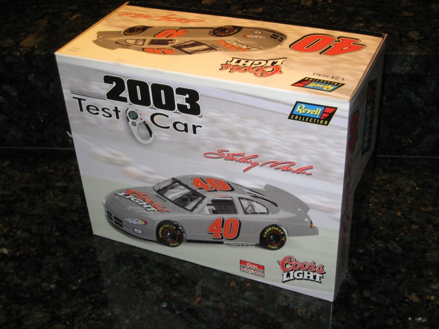 2003 Sterling Marlin NASCAR Diecast 40 Coors Light Test Car CWC 1:24 Revell Collection 1