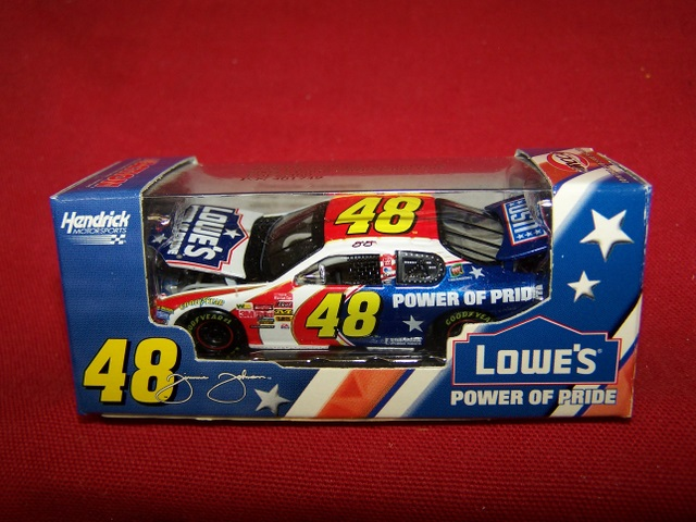 2003 Jimmie Johnson NASCAR Diecast 48 Power of Pride CWC 1:64 Action RCCA Club Car 1