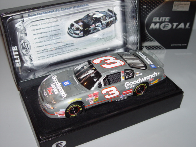 2001 Dale Earnhardt Sr NASCAR Diecast 3 GMGW GM Goodwrench CWC 1:24 Action RCCA Elite Metal 1