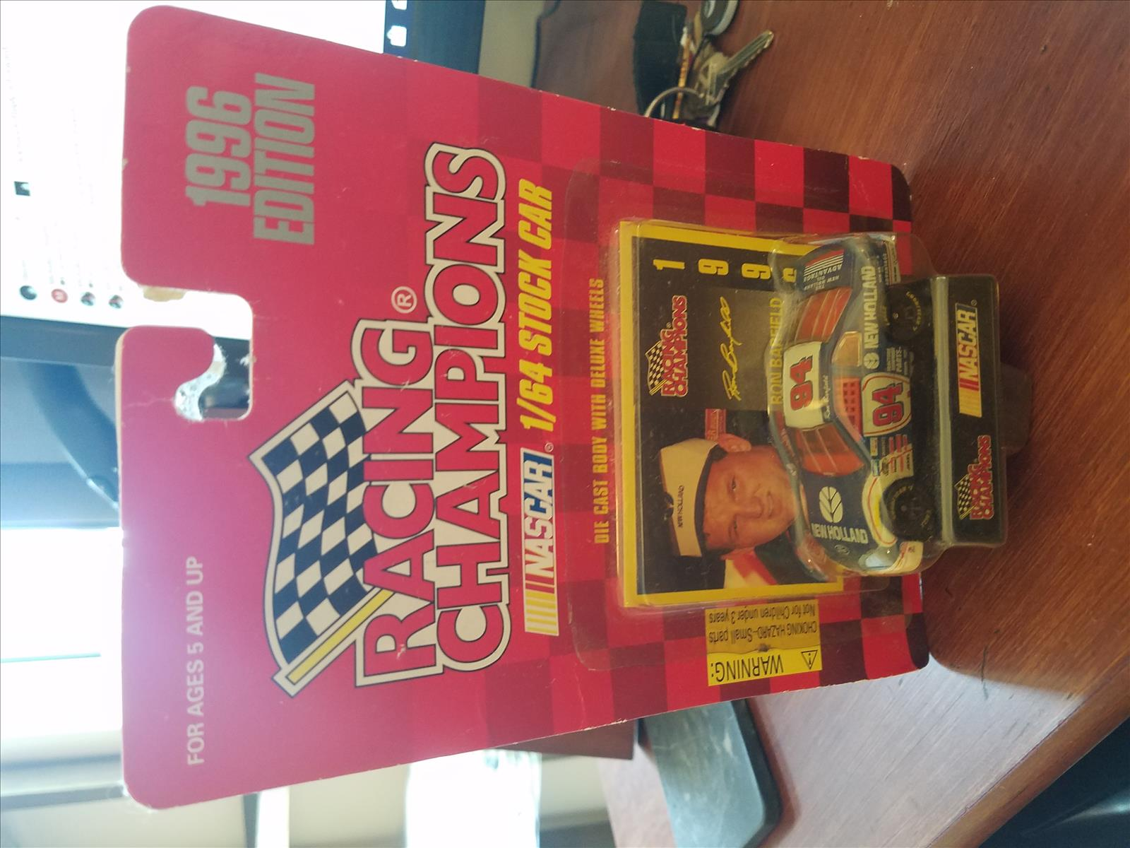 1996 Ron Barfield NASCAR Diecast 94 New Holland CWC 1:64 Racing Champions 1996 Edition 1