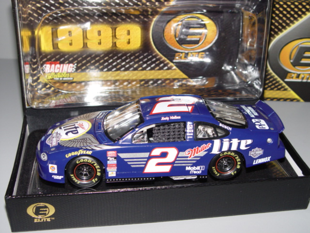 1999 Rusty Wallace NASCAR Diecast 2 Harley Davidson CWC 1:24 Action RCCA Elite 2