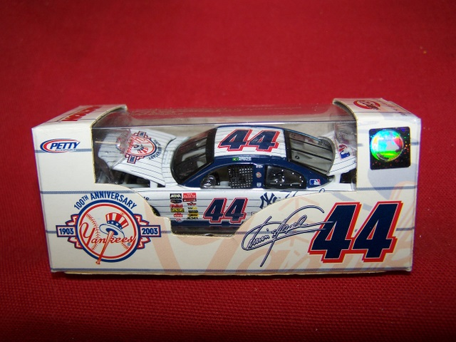 2003 Christian Fittipaldi NASCAR Diecast 44 NY New York Yankees CWC 1:64 Action RCCA 1
