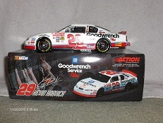 29 Kevin Harvick Diecast 2001 GMGW GM Goodwrench Rookie CWB 1:24 Action RCCA Club Car Bank 1
