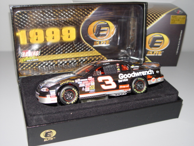 1999 Dale Earnhardt Sr NASCAR Diecast 3 GMGW GM Goodwrench Last Lap of the Century CWC 1:24 Action RCCA Elite 1