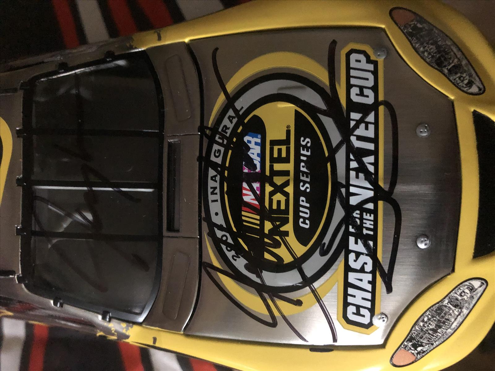 2004 NASCAR Diecast 04 Nextel Cup CHase CWC 1:24 Action RCCA Club Car Brushed Metal 1b