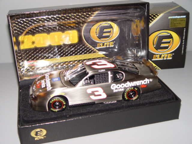2000 Dale Earnhardt Sr NASCAR Diecast 3 GMGW GM Goodwrench Test Car CWC 1:24 Action RCCA Elite Brushed Metal 1