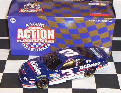 1998 Dale Earnhardt Jr NASCAR Diecast 3 ACDelco AC Delco BWB 1:24 Action ARC Black Window Bank 1