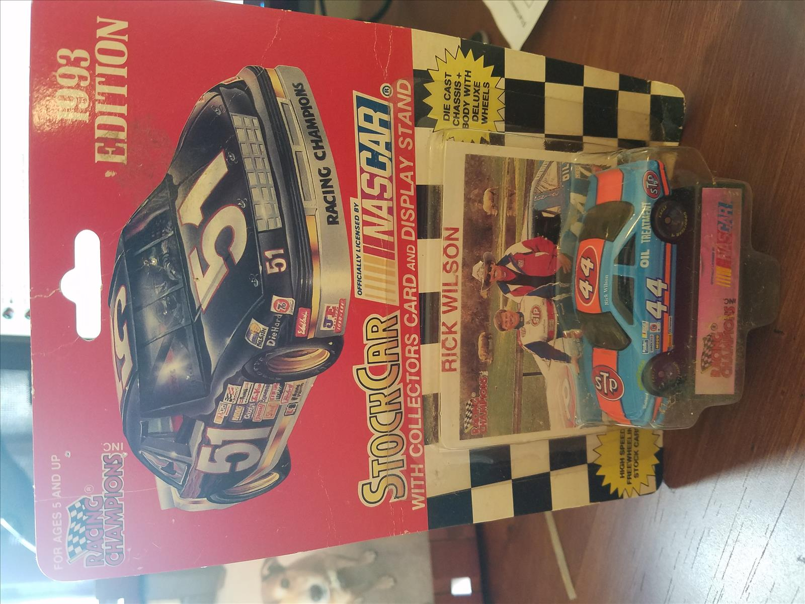 1993 Rick Wilson NASCAR Diecast 44 STP Oil Treatment CWC 64 Racing Champions 1993 Edition 1