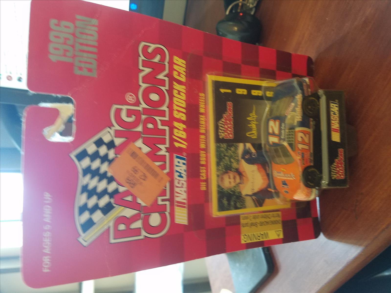 1996 Derrike Cope NASCAR Diecast 12 Badcock CWC 1:64 Racing Champions 1996 Edition 1