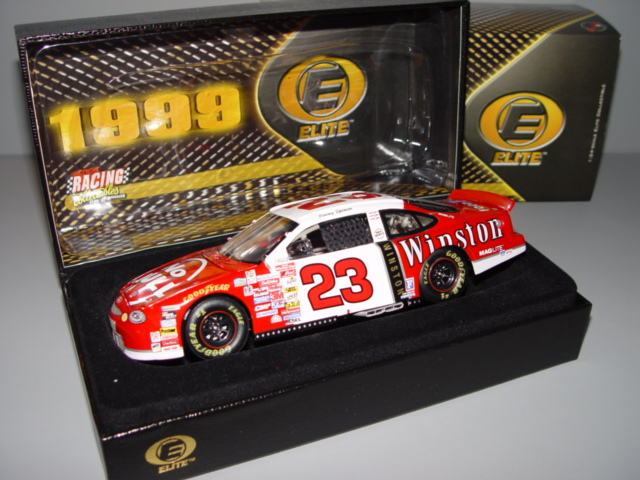 1999 Jimmy Spencer NASCAR Diecast 23 Winston No Bull CWC 1:24 Action RCCA Elite 2