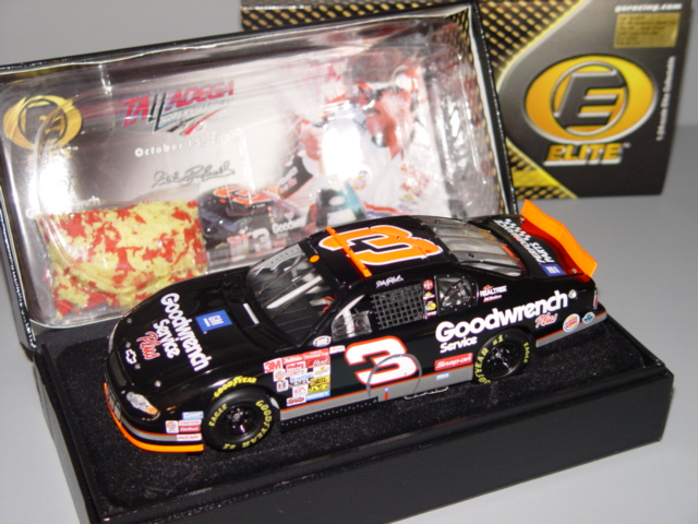 2001 Dale Earnhardt Sr NASCAR Diecast 3 GMGW GM Goodwrench Dega Talladega 76th Win Raced Version CWC 1:24 Action RCCA Elite 1