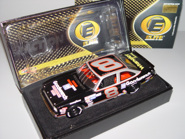 2001 Dale Earnhardt Sr NASCAR Diecast 8 GMGW GM Goodwrench Performance Parts Nova 1987 CWC 1:24 Action RCCA Elite 1
