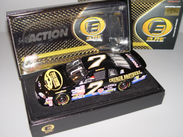2001 Dale Earnhardt Jr NASCAR Diecast 7 Church Brothers 1997 CWC 1:24 Action RCCA Elite 1
