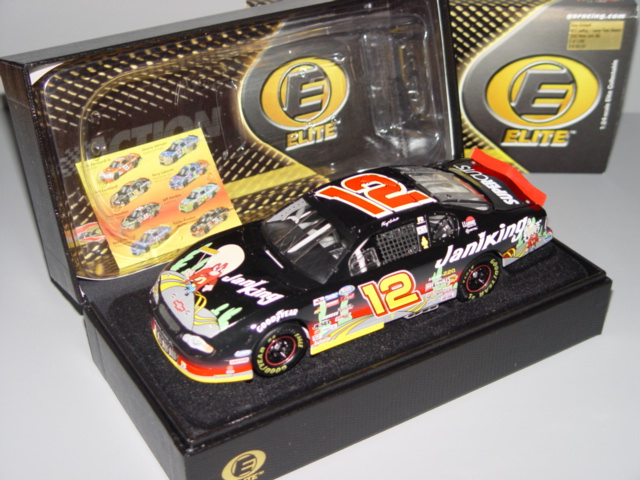 2002 Kerry Earnhardt NASCAR Diecast 12 Kaniking Yosemite Sam Looney Tunes CWC 1:24 Action RCCA Elite 1