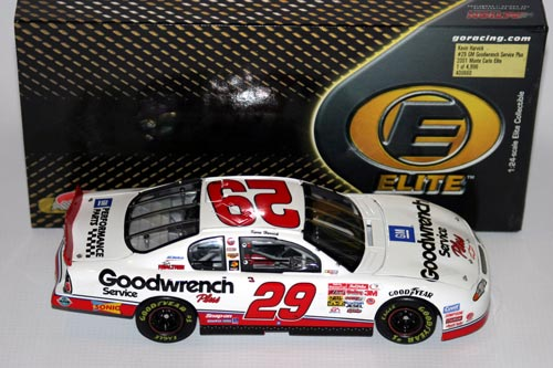 29 Kevin Harvick Diecast 2001 GMGW GM Goodwrench Rookie CWC 1:24 Action RCCA Elite 1