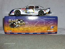 29 Kevin Harvick Diecast 2001 AOL America Online CWC 1:24 Action QVC RFO Race Fans Only COlor Chrome 1