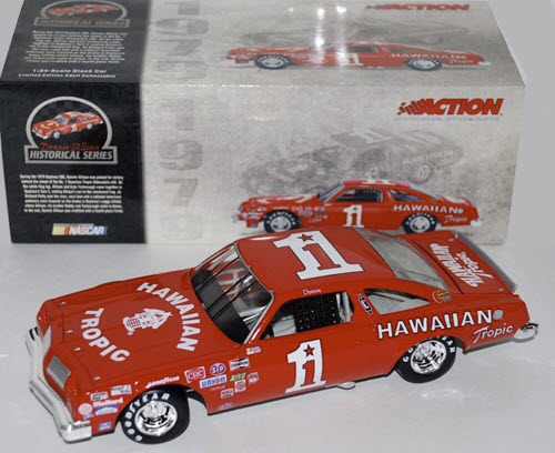 1 Donnie Allison Diecast 1979 Hawaiian Tropic Oldsmobile Olds CWC 1:24 Action ARC 1