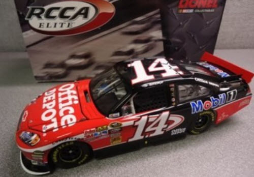 14 Tony Stewart Diecast 2011 NASCAR Office Depot CWC 1:24 Lionel Action RCCA Elite 1
