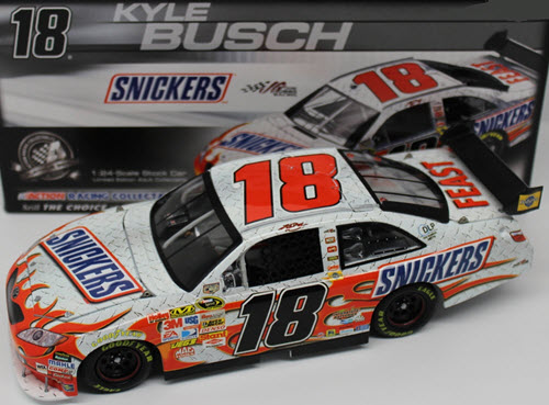 18 Kyle Busch Diecast 2008 Snickers CWC 1:24 Action ARC 1