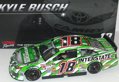 18 Kyle Busch Diecast 2014 Interstate Batteries Legacy CWC 1:24 Lionel Action ARC 1