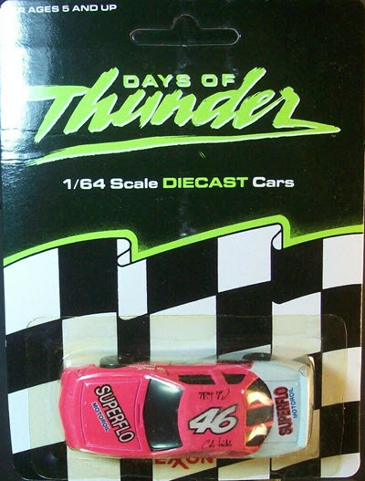 1990 Cole Trickle NASCAR Diecast 46 Days Of Thunder Superflo CWC 1:64 Racing Champions Exxon Promo 1