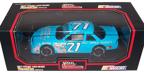 Dave Marcis Nascar Diecast Big Apple Market Cwc Racing Champions on 1992 Chevy Lumina Value