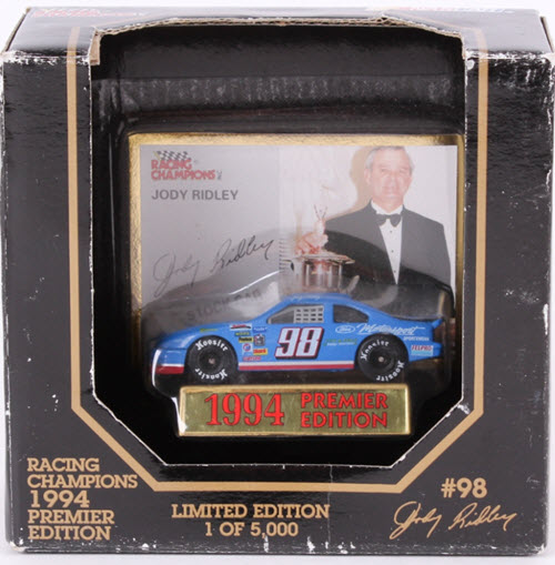1994 Jody Ridley NASCAR Diecast 98 Ford Motorsport CWC 1:64 Racing Champions Premier 1