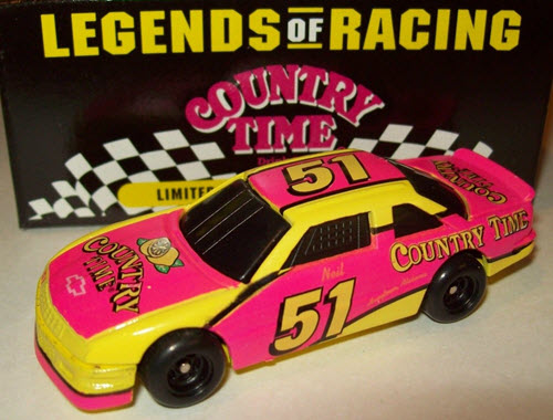 1994 Neil Bonnett NASCAR Diecast 51 Country Time CWC 1:64 Action Legends of Racing 1