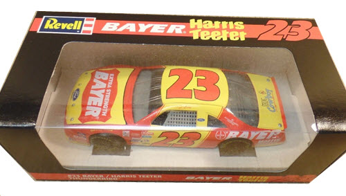 1995 Chad Little NASCAR Diecast 23 Bayer CWC 1:24 Revell 1