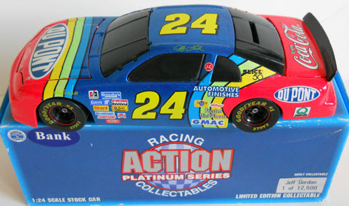 1996 Jeff Gordon NASCAR Diecast 24 DuPont BWB Bank 1:24 Action ARC 1