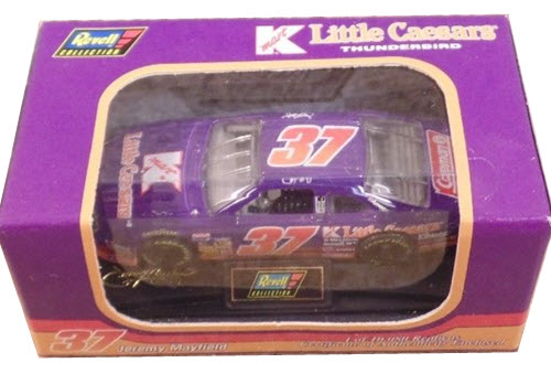 1996 Jeremy Mayfield NASCAR Diecast 37 K Mart Little Caesars CWC 1:64 Revell Collection 1