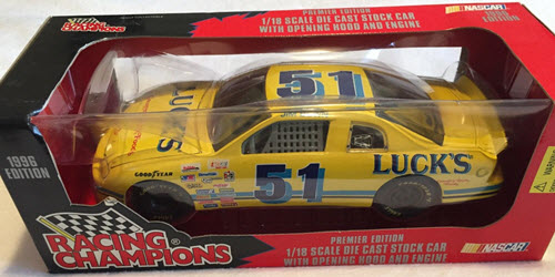 1996 Jim Bown NASCAR Diecast 51 Lucks Country Foods CWC 1:18 Racing Champions Premier 1