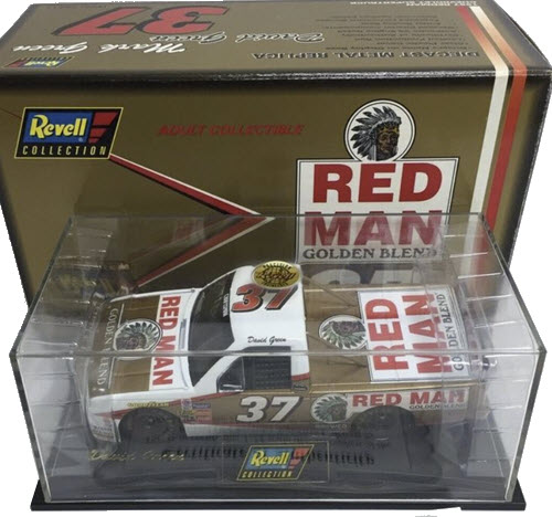 1997 David Green NASCAR Diecast 37 Red Man Tobacco Supertruck Truck 1:24 Revell Collection 1