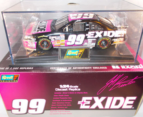 1997 Jeff Burton NASCAR Diecast 99 Exide Batteries CWC 1:24 Revell Collection 1