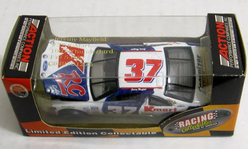1997 Jeremy Mayfield NASCAR Diecast 37 K Mart RC Cola CWC 1:64 Action RCCA 1
