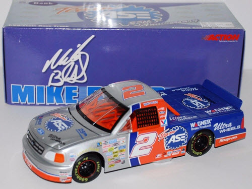 1997 Mike Bliss NASCAR Diecast 2 ASE F 250 Truck CWB 1:24 Action ARC Bank 1