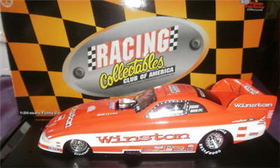 1997 Whit Bazemore NHRA Diecast Winston Funny Car 1:24 Action RCCA MAC Tools 1