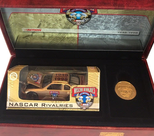 1998 Bill France Sr NASCAR Diecast 50th Anniversary CWC 1:64 Action RCCA 2nd Quarter Rivalries 1