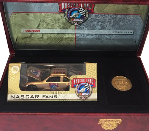 1998 Bill France Sr NASCAR Diecast 50th Anniversary CWC 1:64 Action RCCA 4th Quarter Fans 1