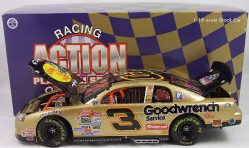 1998 Dale Earnhardt Sr NASCAR Diecast 3 Bass Pro Shops CWC 1:18 Action ARC 1