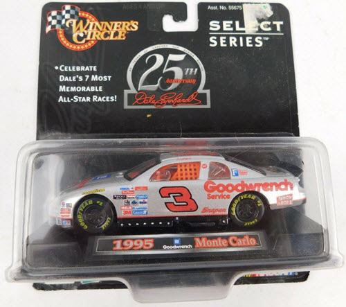 1998 Dale Earnhardt Sr NASCAR Diecast 3 GMGW GM Goodwrench CWC 1:43 Winners Circle Select Series 1