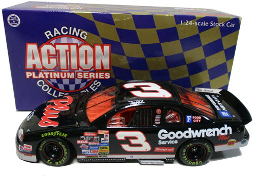 1998 Dale Earnhardt Sr NASCAR Diecast 3 Plus GMGW GM Goodwrench CWC 1:24 Action ARC 1