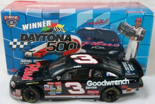 1998 Dale Earnhardt Sr NASCAR Diecast 3 Plus GMGW GM Goodwrench Daytona 500 Winner CWC 1:24 Action ARC 1