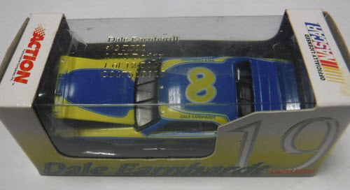 1998 Dale Earnhardt Sr NASCAR Diecast 8 RPM Dodge Charger 1975 CWC 1:64 Action RCCA Club Car 1