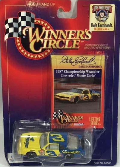 1998 Dale Earnhardt Sr NASCAR Diecast LTS 9 of 11 Wrangler 1987 Champion Aerocoupe CWC 1:64 Winners Circle 1