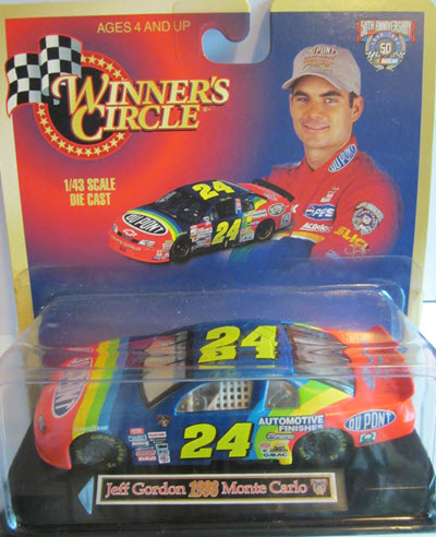1998 Jeff Gordon NASCAR Diecast 24 DuPont CWC 1:43 Winners Circle 1