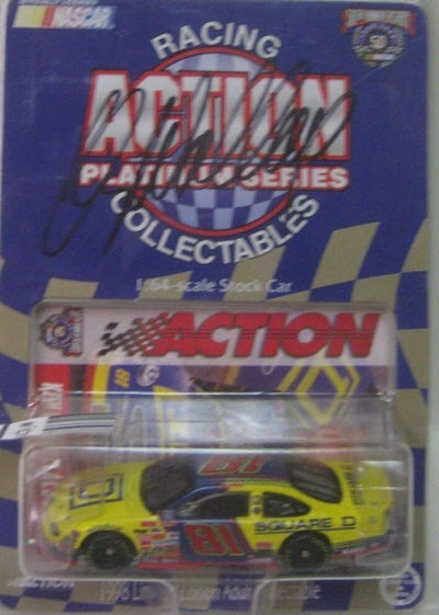 1998 Kenny Wallace NASCAR Diecast 81 Square D CWC 1:64 Action ARC 1