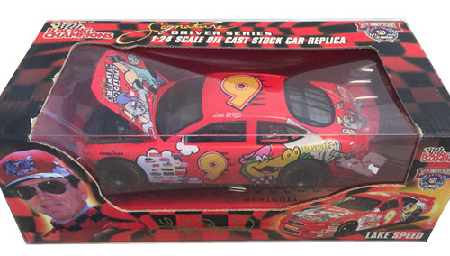 1998 Lake Speed NASCAR Diecast 9 Cartoon Network Huckelberry Hound CWC 1:24 Racing Champions Signature Series 1