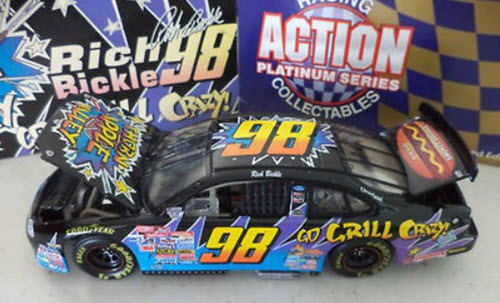 1998 Rich Bickle NASCAR Diecast 98 Thorn Apple Valley Grill Crazy CWC 1:24 Action ARC 1