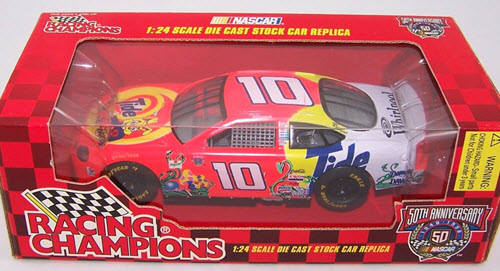 1998 Ricky Rudd NASCAR Diecast 10 Tide Give Kids the World CWC 1:24 Racing Champions 1